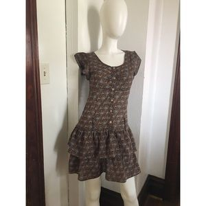 Anthropologie MINE Brand Dress Sz L